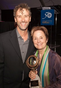 UCSC Foundation Award, given to Alice Waters, 2015